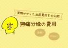 無痛は高額?47都道府県の平均と無痛分娩で実際かかった出産費用を大公開。